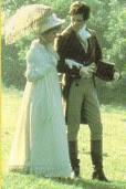 Orgullo y Prejuicio 1980. David Rintoul y Elizabeth Garvie