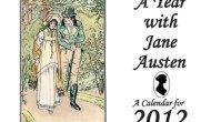 Calendario 2012 con eventos de la vida y novelas de Jane Austen(JASNA)