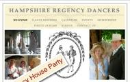 """18 de Febrero. Baile Anual de los """"Jane Austen Dancers"""" organizado por los Hampshire RegencyDancers."""