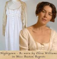 """Salen a subasta por Ebay los vestidos de las películas """"Persuasión"""" y """"Jane Austenrecuerda"""""""