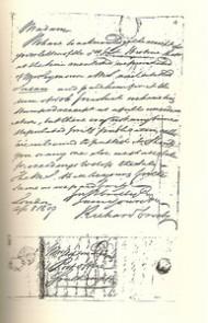 Respuesta de Richard Crosby a Jane Austen. 8 de Abril de1809.