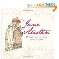 Nuevo mini-calendario de Jane Austen 2013, a la venta enAmazon