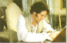 darcy writing letter