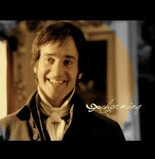 Darcy smiling mathew
