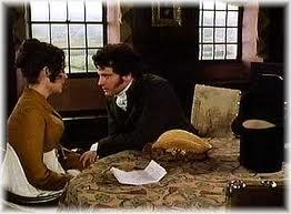 Darcy consuela a Lizzy