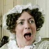 Mrs Bennet screaming