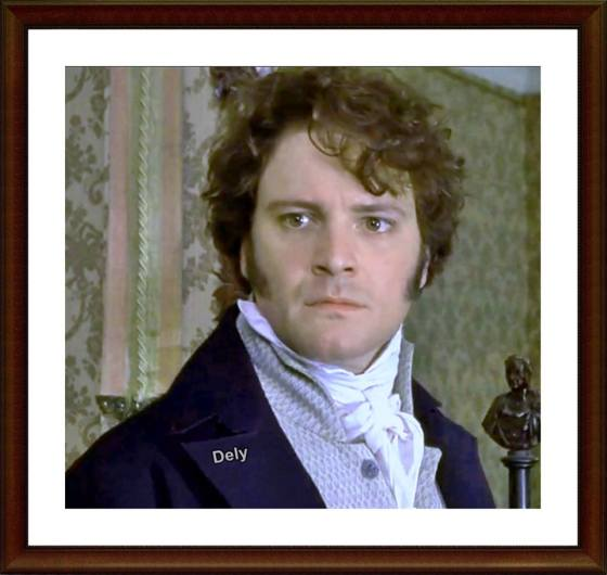 Darcy 1995. Colin Firth