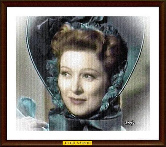 Lizzy Greer Garson 1940
