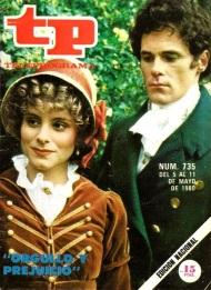 Cuando emitieron Orgullo y Prejuicio en 1980 en TelevisiónEspañola…