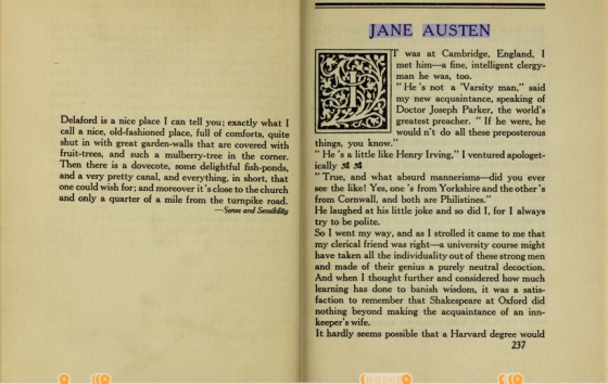 E. Hubbard Jane Austen