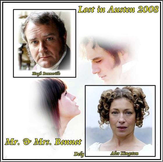Sr. y Sra. Bennet 2008 Lost in Austen