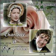 ¿Quiénes son tus Mr. Collins y Charlotte favoritos? Vota turanking…