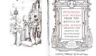 """Biografías Antiguas de Jane Austen: """"Duólogos y escenas de las novelas de Jane Austen"""" (1895) de RosinaFilippi"""