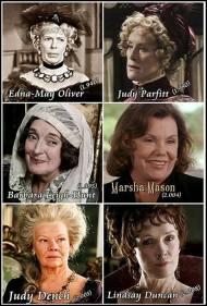 ¿Quién es tu Lady Catherine de Bourgh favorita? Vota turanking…