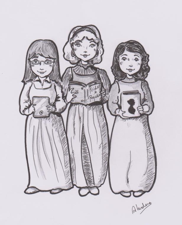 MCarmen, Mila y Almu