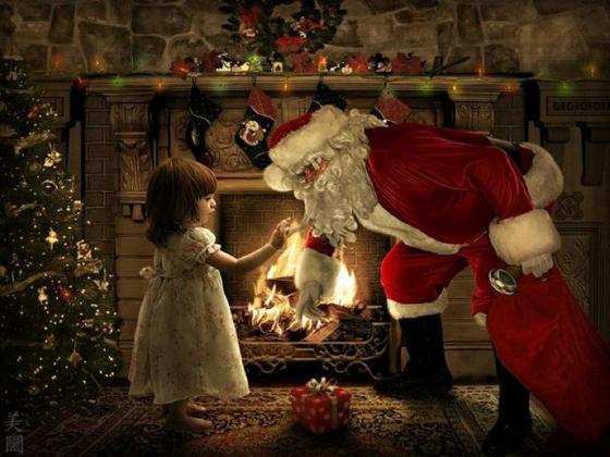 papa noel christmas-time