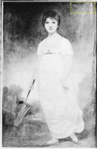 Retrato tomado con una cámara antigua en el siglo XIX