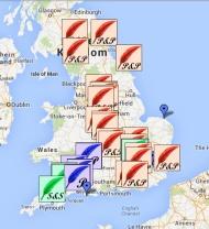 Los lugares de las novelas de Jane Austen, en GoogleMaps