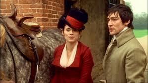Mary Crawford con la yegua