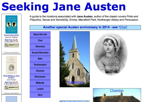 Seeking jane austen