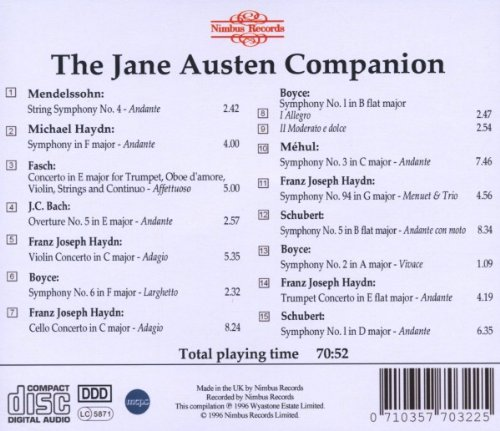 The Jane Austen Companion CD2