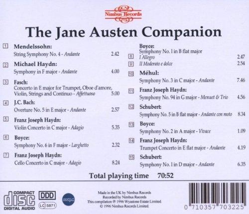 The Jane Austen Companion CD2
