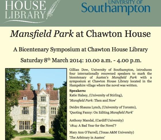 MP at Chawton House