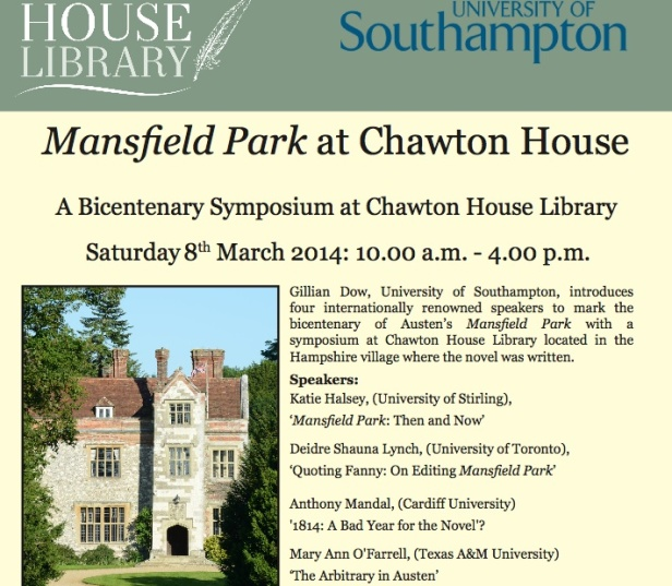 MP at Chawton House
