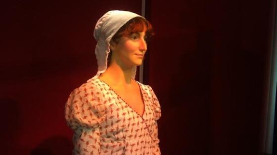 Jane Austen rostro cera 3