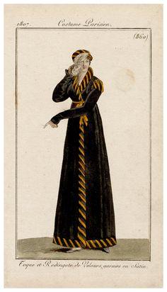 black velvet pellisse