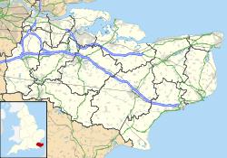 gravesend 250px-Kent_UK_location_map.svg