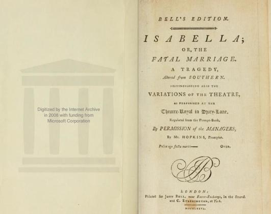 """Haz click en la imagen para leer """"Isabella"""" on line"""