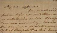 Aparece una de las cartas de Jane Austen después de 60 años en unacaja