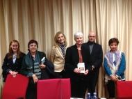 """Crónica de la presentación del libro """"Aprender a escribir con Jane Austen y Maud Montgomery"""" de la hispanista IngerEnkvist)"""