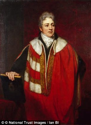 """Aquí tenéis al Conde de Morley, John Parker. Un auténtico """"figura"""" al que se pretende hacer pasar por la inspiración de Mr. Darcy. A mí me parece una afirmación extremadamente sesgada"""