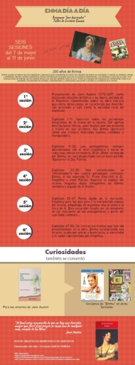 Valoración del Taller de Lectura sobre Emma celebrado en Mayo-Junio en el PaísVasco
