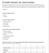 Austenitas del mundo hispanoparlante: ¡Vamos a contribuir a la realización de una nueva tesis doctoral sobre JaneAusten!