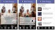 Nueva App gratuita con frases de JaneAusten