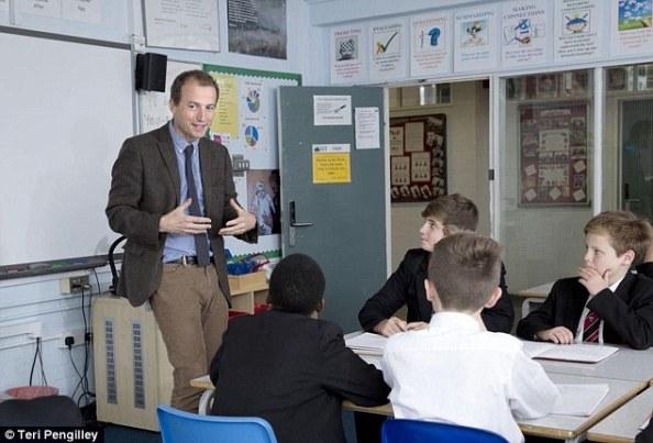 Crispin Bonham carter teacher