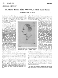 14 Diciembre 1815. Carta a Charles ThomasHaden.