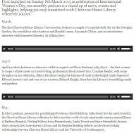Podcasts sobre Jane Austen (conferencias en Chawton House Library) para escuchar estas vacaciones deNavidad