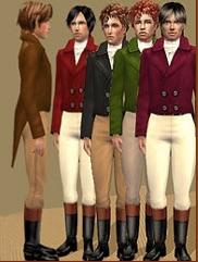Sims Regency Male