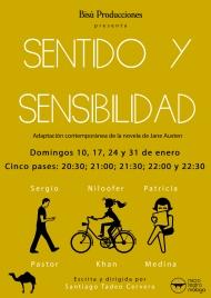 Microrepresentación teatral de Sentido y Sensibilidad en Málaga. ¡No os laperdáis!