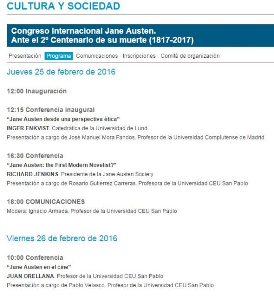 Congreso JA CEU