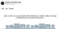 Blog oficial del condado de Hampshire y la Casa Museo de Jane Austen para celebrar el bicentenario del fallecimiento de JaneAusten