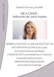 19 Marzo 2016. Os espero en la Casa del Libro de Paseo de Gracia, Barcelona, para hablar dePersuasión