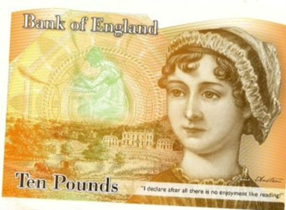 Billete_jane_austen