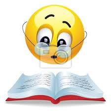 emoticono libro