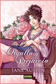 Orgullo y Prejuicio en versión manga en español, por NormaEditorial
