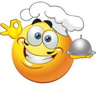emoticon cook